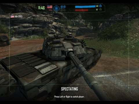 Action 3D Browsergames - Tank Wars