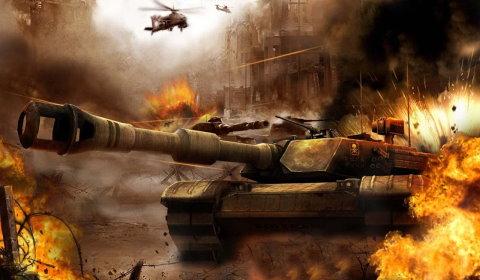 3D Browsergames - Tank Wars