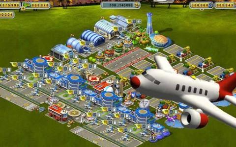 Online Games in 3D: Skyrama