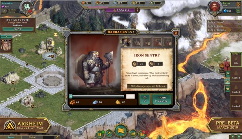 3D Games - Arkheim: Realms of War