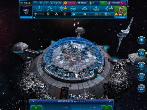 3D Browsergames spielen - Astro Lords